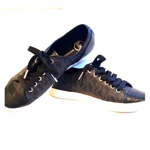 Michael Kors Black City Sneaker